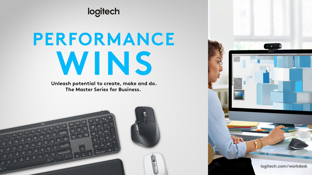 👏 Specialized workers require specialized setups. 👏 Unlock a higher caliber of speed, precision, & accuracy in your coders, creatives, & analysts with #MasterSeries for Business. See what it's like when performance wins: logi.link/qhm8tt