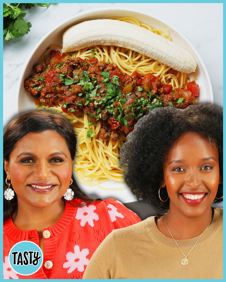 Food isn't just about flavour - it unites people, communities and cultures worldwide.  In this co-produced video with @tasty, @mindykaling joins Hawa Hassan to make a delicious spicy Somali pasta dish, inspired by her childhood and refugee journey. https://t.co/nh1iVqrkdo