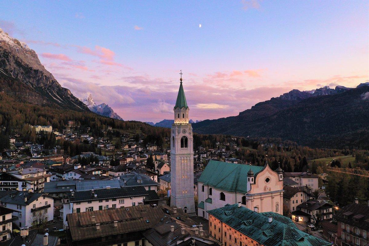 RT @AventuraLugares: Cortina d'Ampezzose viste...