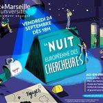 NUIT 🇪🇺 DES CHERCHEURS ⚛️   J-14 avant la #NuitChercheurs qui vous invite au voyage le 24 septembre à @IMPGT_UnivAMU et au Musée des Tapisseries @aixmaville ! Découvrez le programme dès maintenant sur @NuitChercheurs !  + d'infos ➡️ https://t.co/eS1jfy9C8p