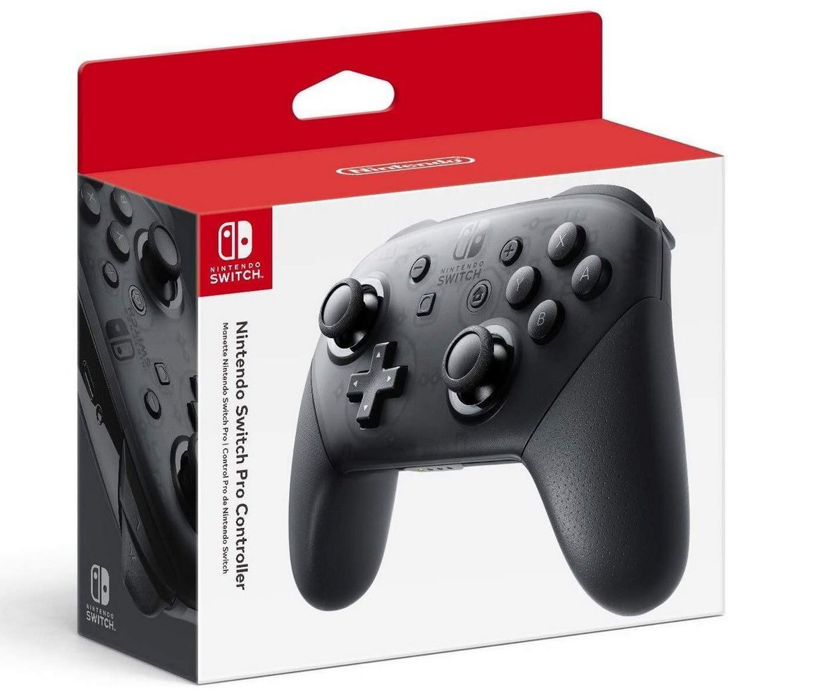 Nintendo Switch Pro Controller $59 via Amazon (Prime Eligible).