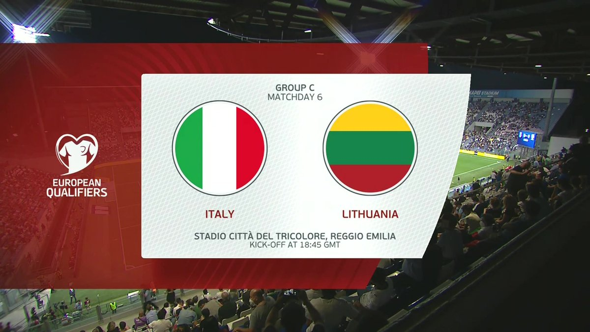 Full match: Italy vs Lithuania