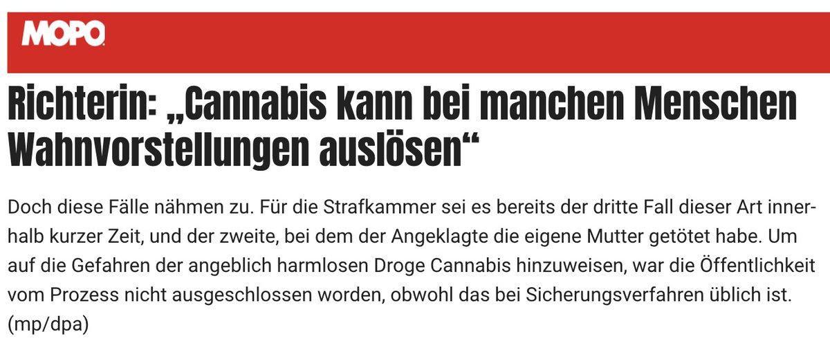 Entgegen des Sprichworts, macht für diese Richterin eben doch jede Schwalbe einen Sommer. Schwer zu ertragen.  #SchlussmitKrimi #CannabisNormal #LegalizeIt #Cannabis #AntiPro.hibition #WirwollenLegalisierung #Verfassungsweedrig