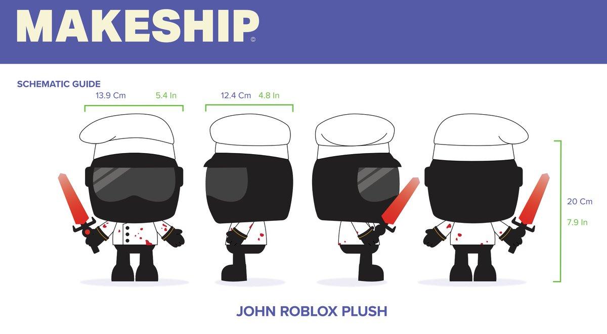 marketable john roblox plush