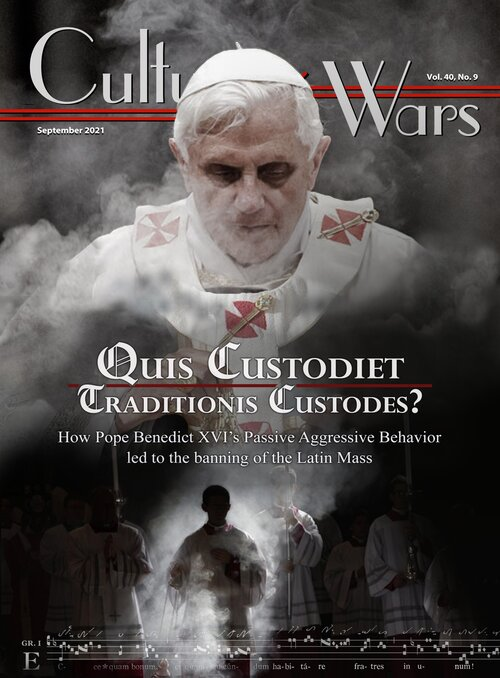 The September e-edition of Culture Wars is available at culturewars.com/volumes-31-40/… It features: *A World of Contradictions Why Indians Can't Cope by Shounak Das * Quis Custodiet Traditionis Custodes? by E. Michael Jones * The Decline and Fall of the BBC by Sean Naughton & more