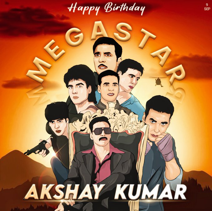 HAPPY BIRTHDAY AKSHAY KUMAR sir..  Stay strong sir..Love you 3000