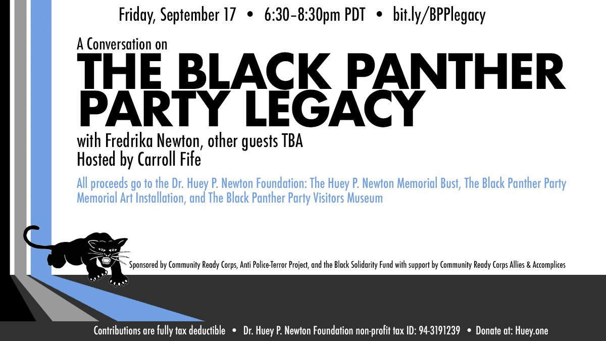 The Black Panther Party Legacy @ Online