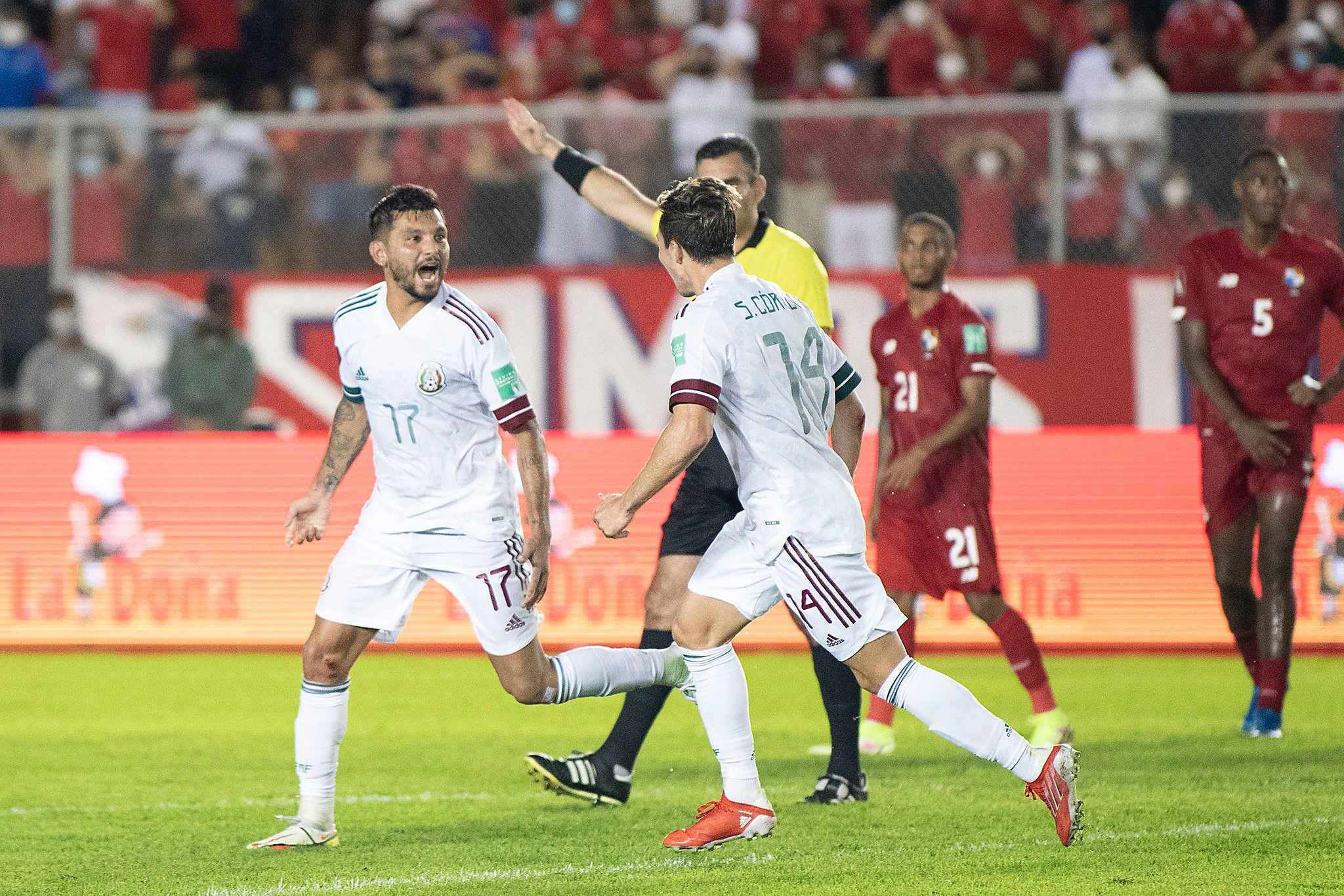 Panamá vs México 1-1 Octagonal Final CONCACAF 2022
