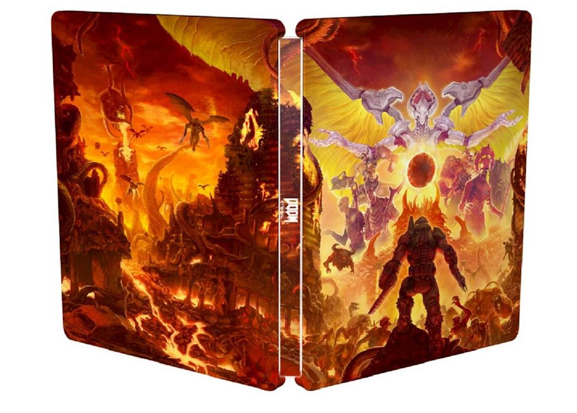 DOOM Eternal SteelBook $4.99 via Best Buy. 2