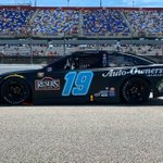 Look familiar? Today @AutoOwnersIns is throwing it back to the matte black paint scheme @MartinTruex_Jr is know for!
