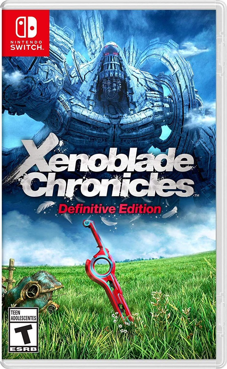 Xenoblade Chronicles: Definitive Edition (Switch) is 33% off on Amazon again: 2  $39.99