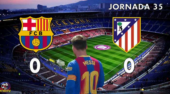 #Barça 1 Atlético 1 . Un empate que condena al Barça  https://t.co/FqJA54PcPC https://t.co/6PHWznQZyv