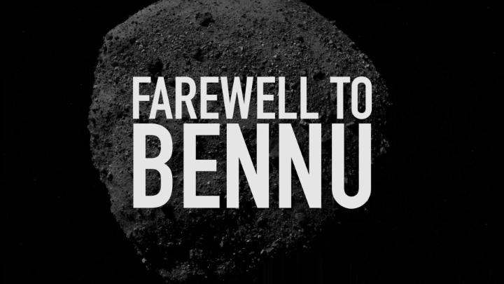 Tomorrow, our @NASASolarSystem OSIRIS-REx mission departs asteroid Bennu, carrying a sample of rocks & dust for return to Earth. Set a reminder to watch live at 4pm ET as the spacecraft begins its journey home: https://t.co/L4alRfju1k #ToBennuAndBack https://t.co/68uLNEYv7e