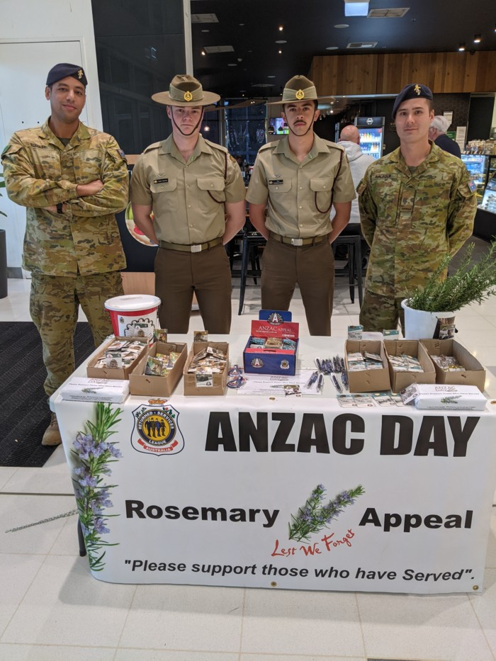 test Twitter Media - Thanks to public generosity and the efforts of Malcolm Allen on behalf of the RAR Association SA, with assistance from serving troops, several thousand dollars was raised towards the Anzac Appeal. Well done all. https://t.co/yvhMu6u3HY