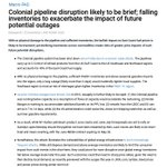 """Image for the Tweet beginning: Goldman on Colonial: """"With no"""
