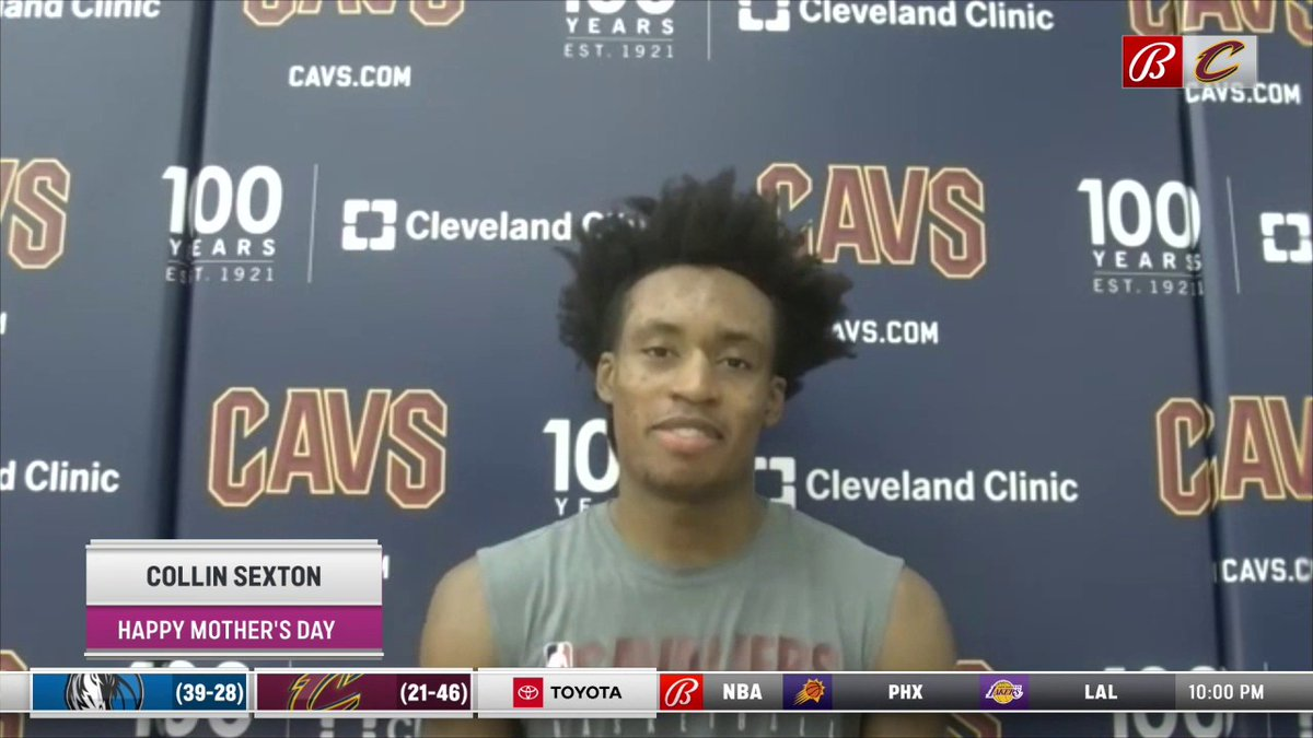 We want to wish a Happy Mother's Day to all of the special moms out there.   Listen to the @cavs, @_bigjayy_, @isaacokoro303, and @CollinSexton02 talk about the sacrifices their mom's have made for them. https://t.co/wRtWrHE6dQ