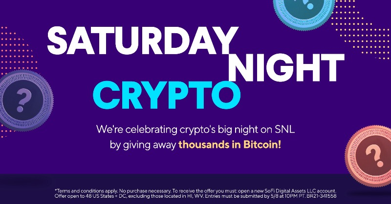 test Twitter Media - The #Dogefather is on #SNL tonight! To celebrate, we're giving away thousands in #Bitcoin between now and 10pm PT. The first contest starts soon, but follow along for opportunities throughout the day!   No purchase necessary. #SweepsEntry Official Rules: https://t.co/Ze2ZFahy58 https://t.co/0i425lsW8Y