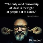 Image for the Tweet beginning: Fight censorship. Subscribe to #TheDefender