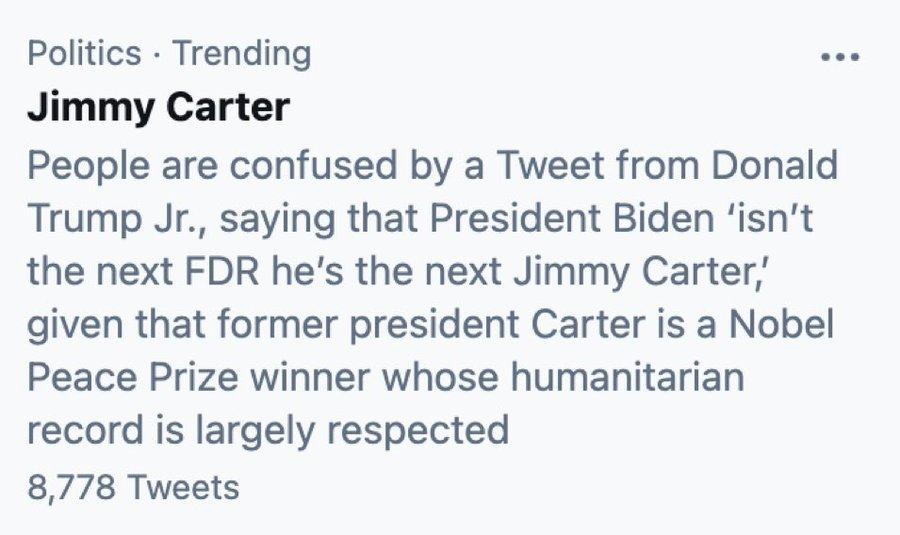 @benshapiro's photo on Jimmy Carter