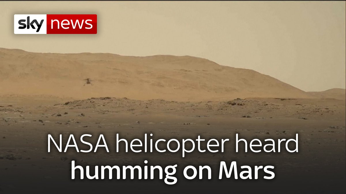 Ingenuity, the first powered aircraft to fly on another planet, arrived at Mars clinging to Perseverance's belly.  Today's top stories: https://t.co/4ozTbgvoxl https://t.co/Da9bfXOWh2