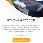 Image for the Tweet beginning: Boletín Asociados | Mayo