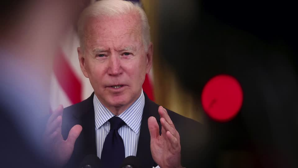 President Joe Biden addressed a disappointing jobs report: 'Today there is more evidence our economy is moving in the right direction. But it's clear we have a long way to go.' More here: https://t.co/9pe3Sk39hd https://t.co/xBcswHlhrP