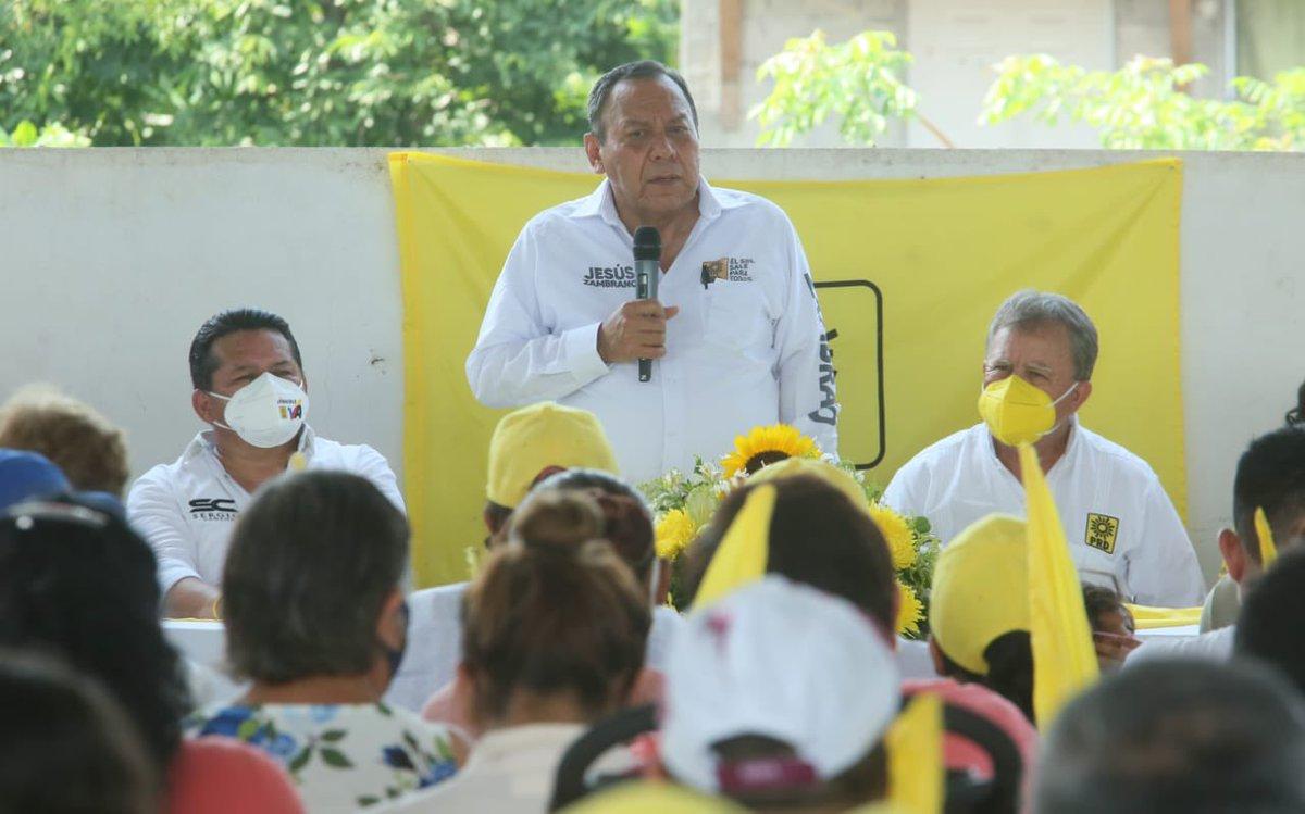 El municipio de #SanRafael #Veracruz continuará teniendo un gobierno de calidad y de compromiso con la ciudadanía. Nuestro candidato del  @PRDMexico @hectorlagunesr será un alcalde que atienda las causas sociales. #VaPorVeracruz https://t.co/t7FXNjh7Gm