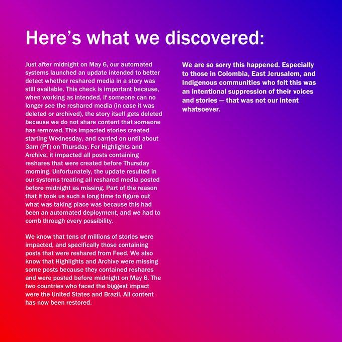 , Instagram Reverses Stories Algorithm