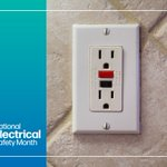 May is Electrical Safety Month!  Outlets are an easy place to start creating a safer home for your family. Learn how specific outlet types can prevent shocks, burns, and even electrocution: https://t.co/VTcZfMoBuJ.