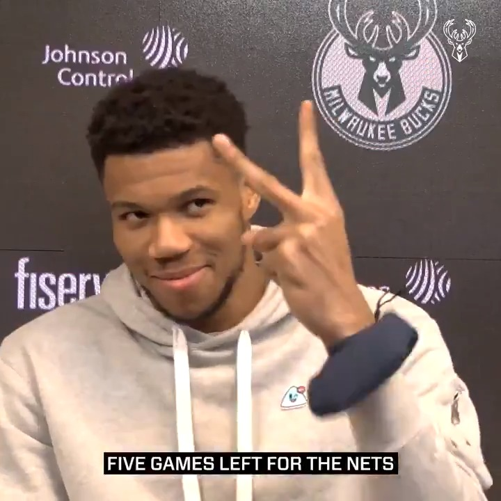 """Hell no. It does not matter.""  Giannis shares his thoughts on the 2nd seed: https://t.co/7bpEhlNnLB"