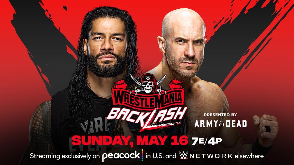 Wrestlemania Backlash 2021: WWE Universal Title Match Announced 137