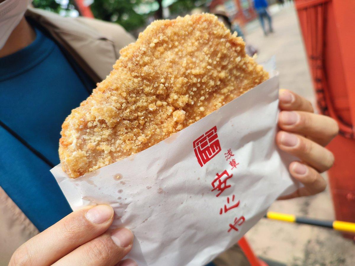 台湾人おすすめ?日本一美味いと評判の浅草の「炸鸡排」