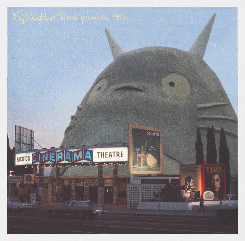 RT @dennisbhooper: Cinerama Dome, My Neighbor Totoro premiere, May 1993 https://t.co/ZT9EUx32MX