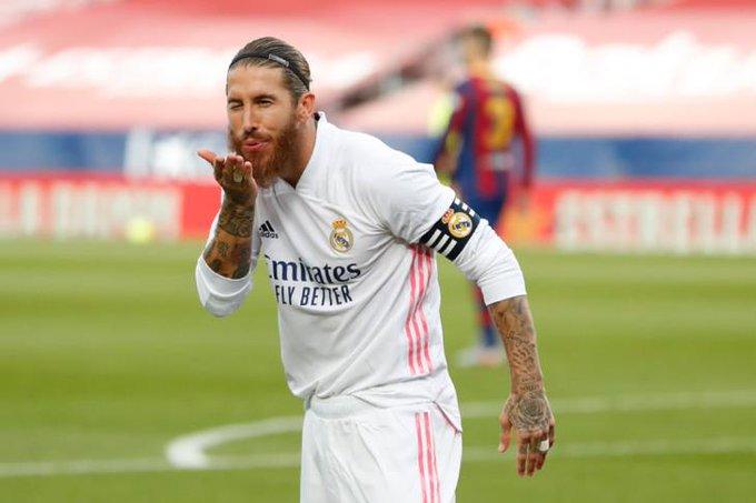 راموس ربما يكون خاض آخر مباراة له بقميص ريال