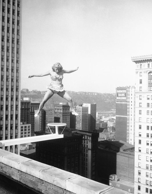 Betty Fox in Pittsburgh on this date May 9 in 1956. Photo by William Smith. #OTD https://t.co/lGlLSE2Yzq