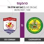 Image for the Tweet beginning: Connah's Quay v Caernarfon -