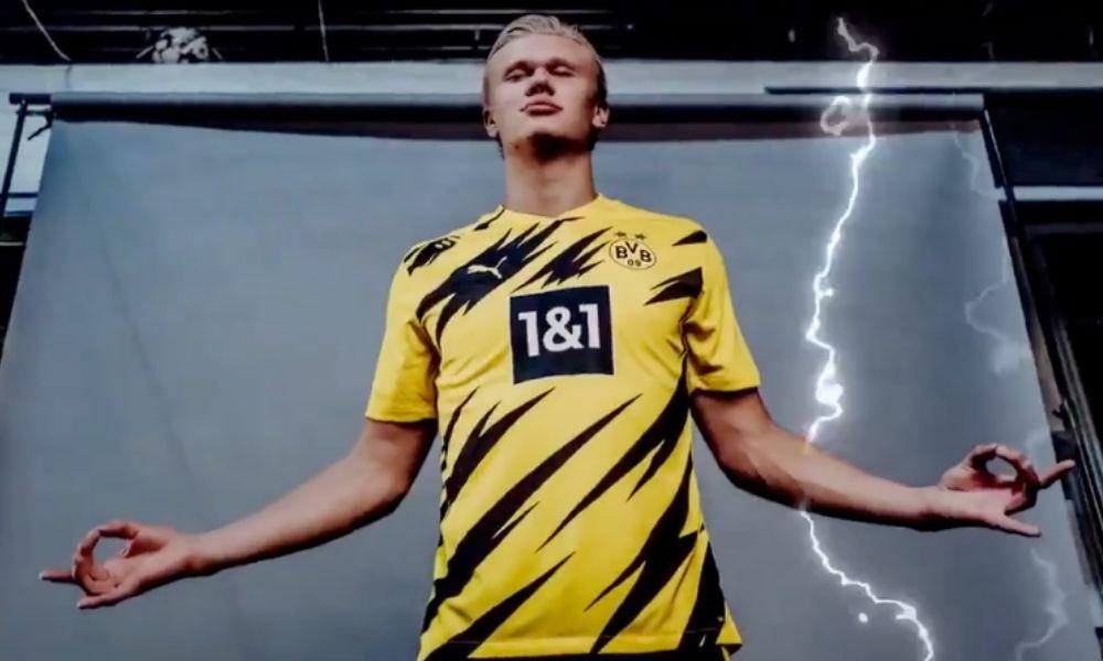 Ni el Dortmund ni Haaland se quieren perder la próxima Champions ⚡️  El @BlackYellow, que es 5to a un punto de #UCL, saldrá en modo relámpago ante un Leipzig que aún sueña. No hay márgen de error 🔥. A las 9:22 am, al aire. ¡No se pierdan este partidazo de #BUNDESLIGAxTLT! 🇩🇪 https://t.co/oVJi6RPwdj
