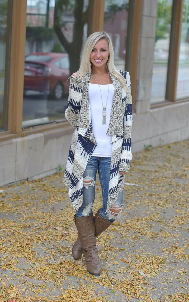 Draped printed long cardigan will easily make any outfit look bright and very special. Try it on with white top and ripped skinny jeans tucked in slouchy boots. #fashion #love #style #photography #photooftheday #beautiful #follow #picoftheday #model #beauty https://t.co/CCaXISqpk8