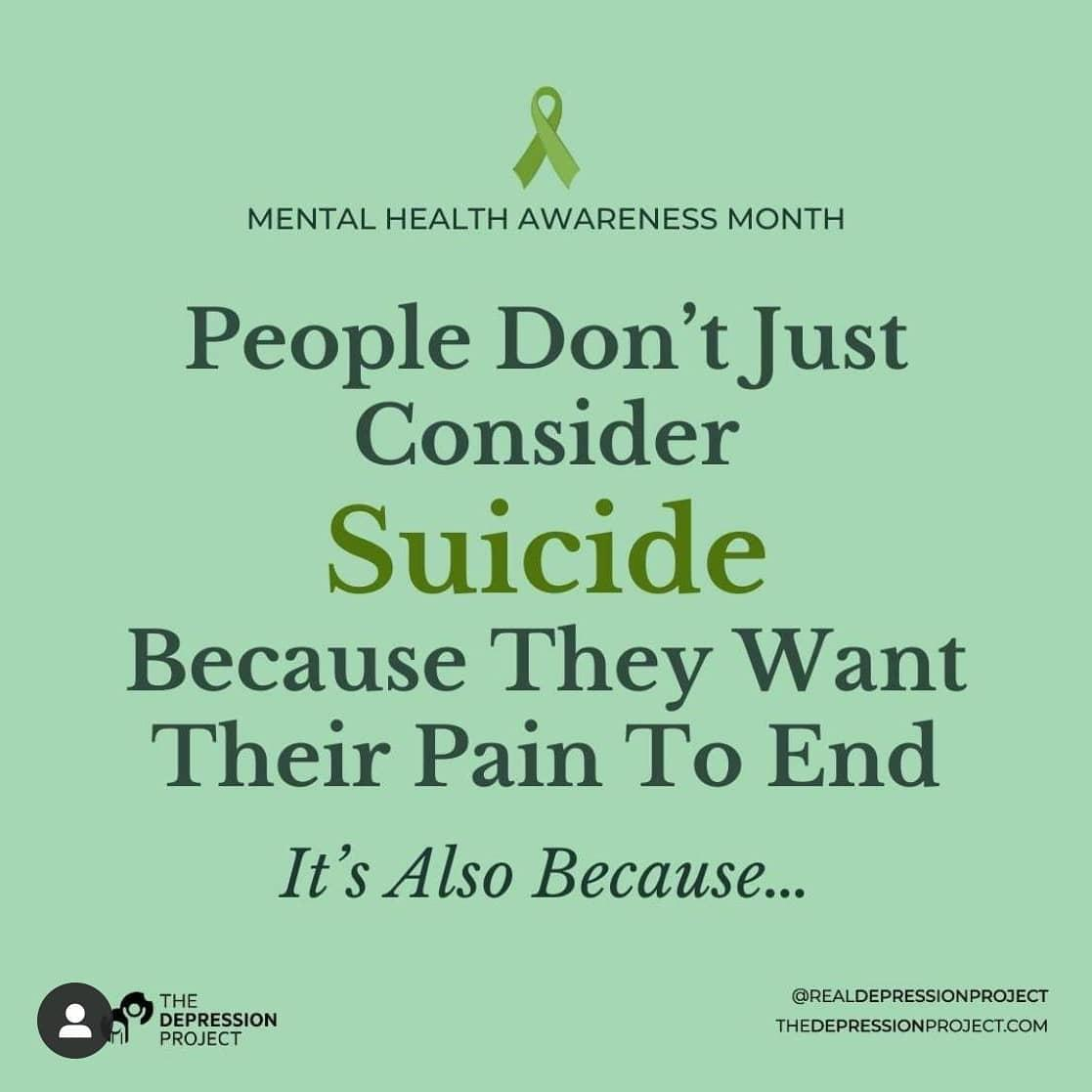 #MayDay #MentalHealthMatters #SuicideAwareness #SaturdayThoughts