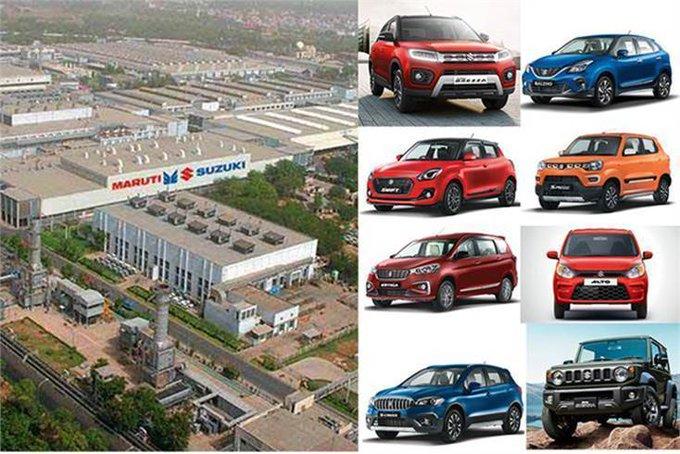 Maruti Suzuki India extends plant shutdown till 16 May Photo