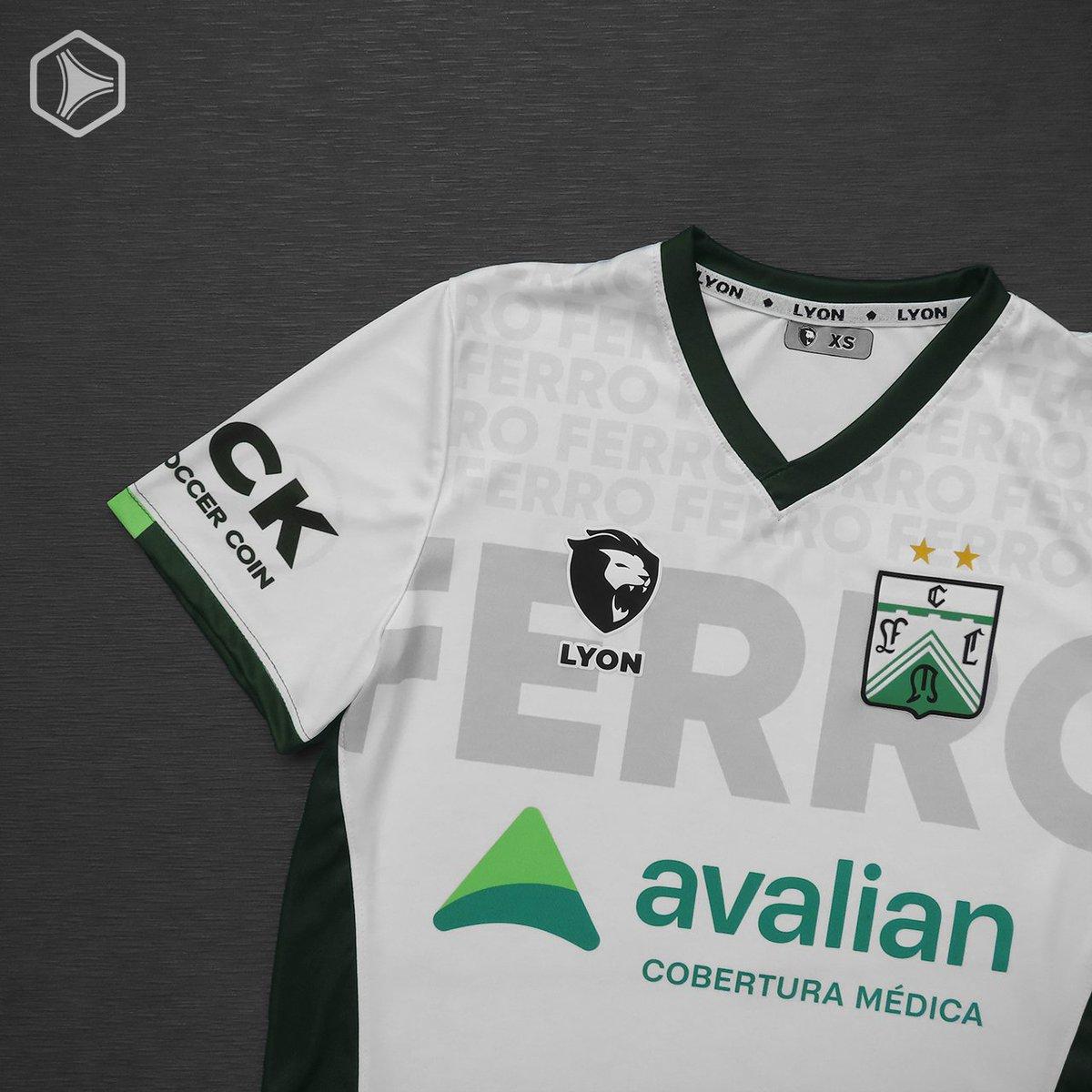 Camiseta Sport Lyon de Ferro Carril Oeste 2021