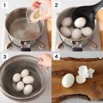 あの悩みが解消されるかも?!殻が綺麗にむけるという、ゆで卵の茹で方!
