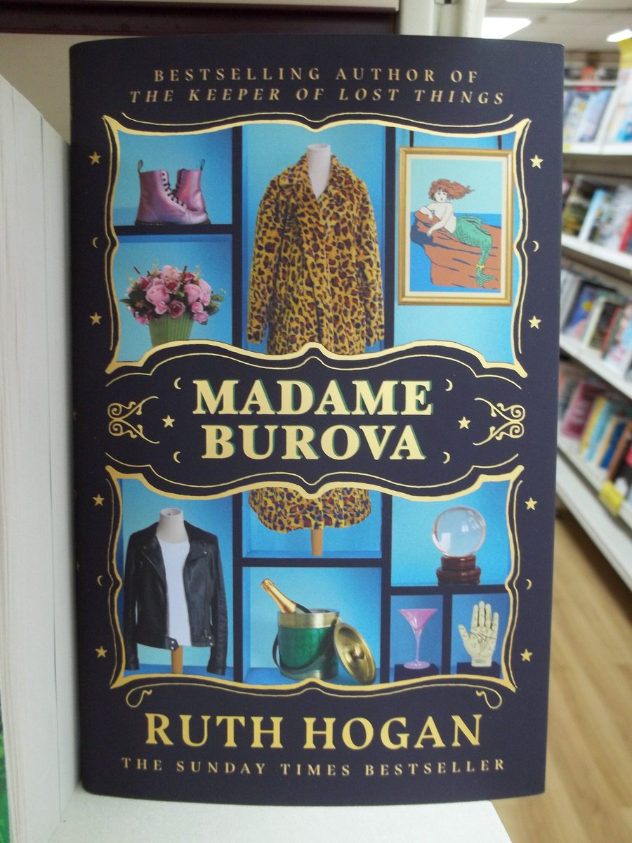 #Signed copies of #MadameBurova by @ruthmariehogan @johnmurrays in stock now in #Haverfordwest #Pembrokeshire https://t.co/WDDeucHgQs
