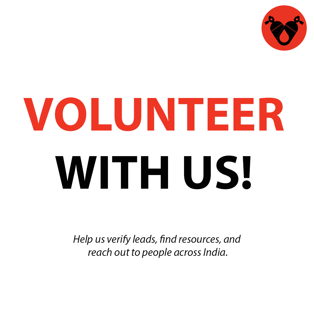 CALL FOR VOLUNTEERS! We're looking to expand our team of dedicated volunteers to help facilitate more people with resources across India. If you're at home or have some time to spare, we would really appreciate the help. REGISTER: https://t.co/RJCZe75SbS  #CovidinIndia #CovidHelp https://t.co/dLPUiC0kN5