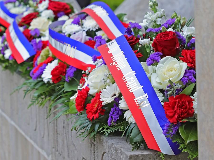 Image for the Tweet beginning: #DevoirDeMémoire en #GrandEst    Commémoration