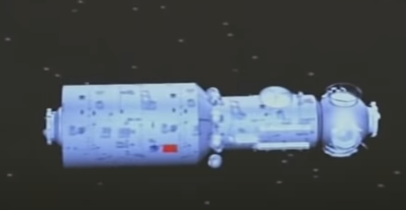 The photo realistic image of the chinese rocket that will fall out of the sky this weekend.  Watch out everybody.  This thing looks like it will do some damage. https://t.co/wxPyJ9oG4e