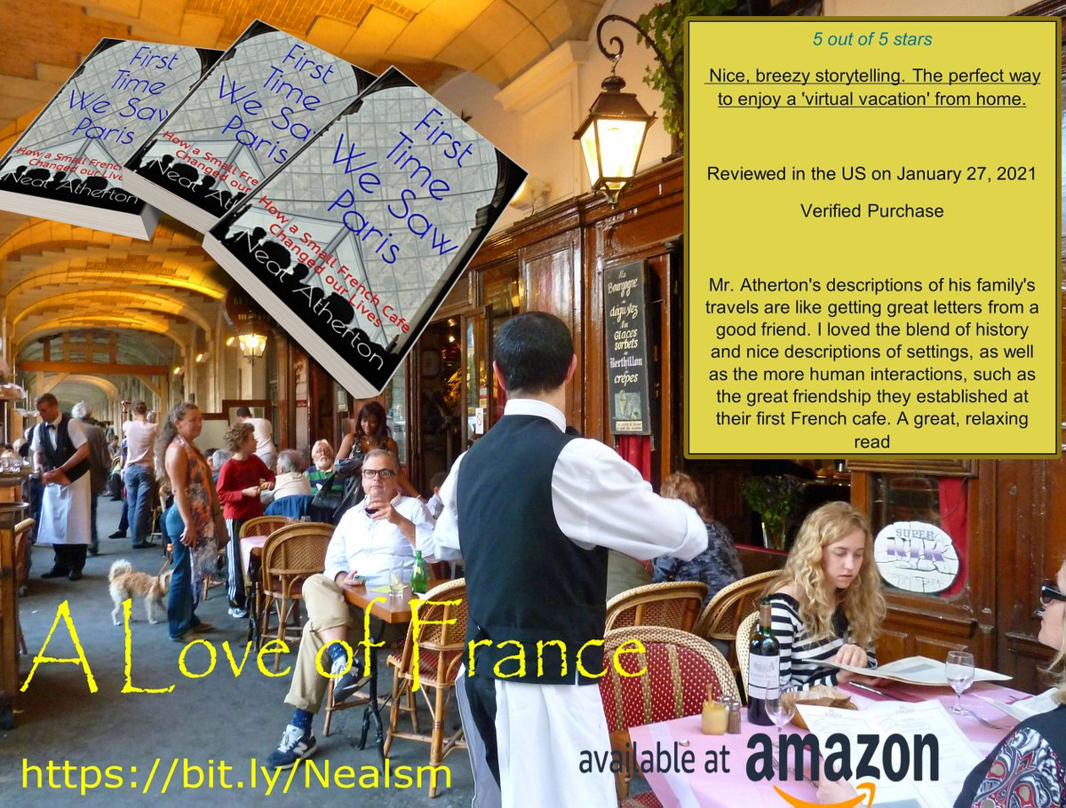 From Paris to the Sunny South NOW ON AMAZON: KINDLE & Unlimited  https://t.co/WoZHu1El0y #france #paris #books #wine #french #memoirs #welovememoirs #books #kindle #kindleunlimited #holidays #reading #lockdown #foodandwine #free #travel https://t.co/7kOOV7gxWx