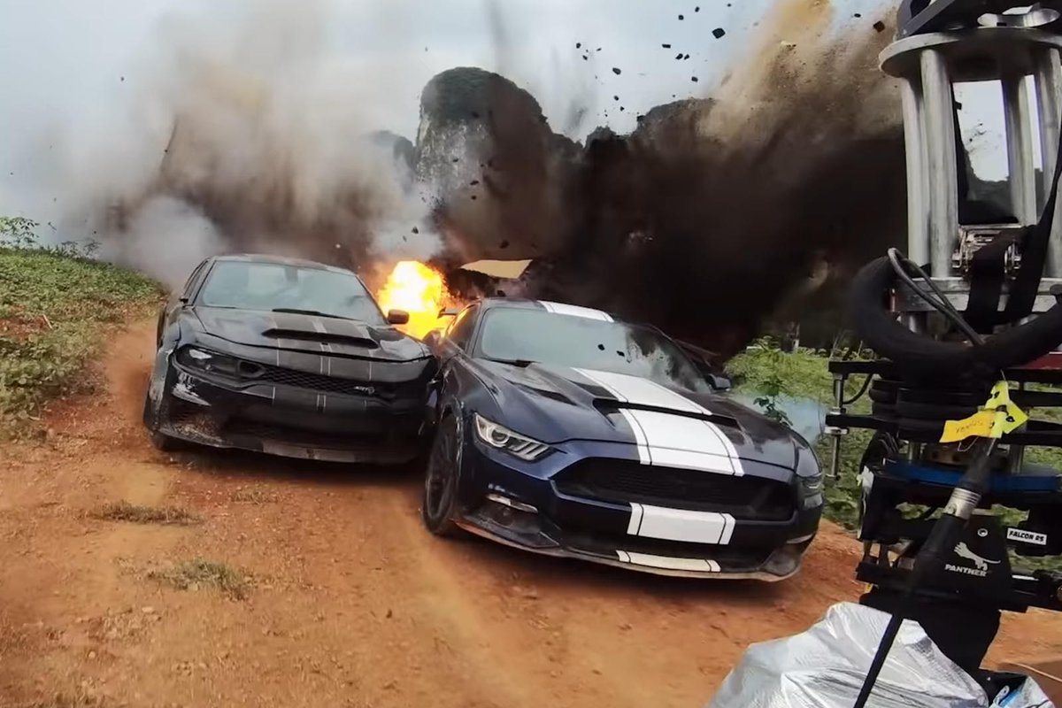 Behind The Scenes Fast & Furious 9 Video Is Total Carnage. See how the film's craziest car stunts were filmed. #movies&tv #video Read: https://t.co/UG9kLmi5AH https://t.co/XNk9cc5Dsj