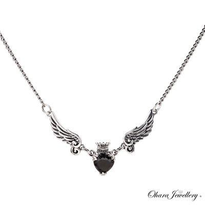 https://t.co/4UliknLZrY 925 Solid Sterling Silver Black Heart Angel Wings Pendant Necklace £11.99! #ukgiftam #giftideas #jewellerydesigner #fashion #photography #instajewelry #art #love #style #design #bride #beauty  😎 https://t.co/9QMLZwejfN