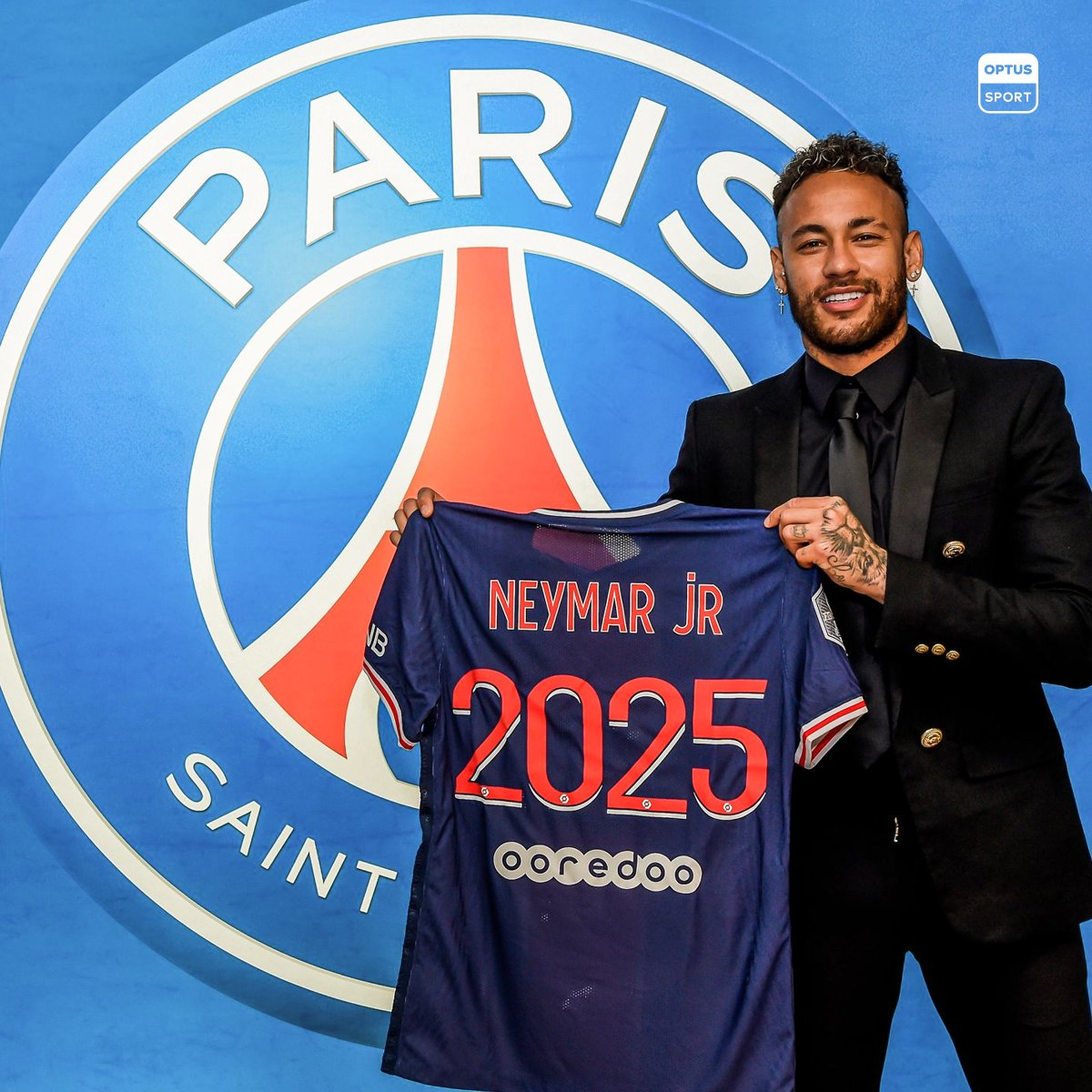 Neymar extends his Paris stay until 2025 🇫🇷  🤑 A salary reportedly worth €30m ($46m AUD).  💰 With a bonus to be paid 𝒊𝒇 PSG can win the Champions League.  #UCL #OptusSport https://t.co/KACnsk02fi